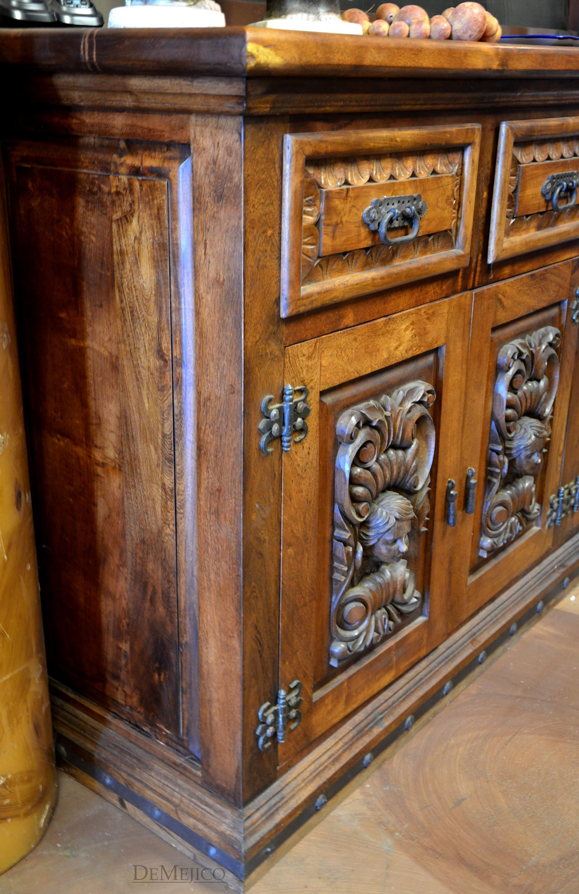 Instantly Change An Existing Buffet Armoire Or Hutch With Our Rustic Cabinet Hardware