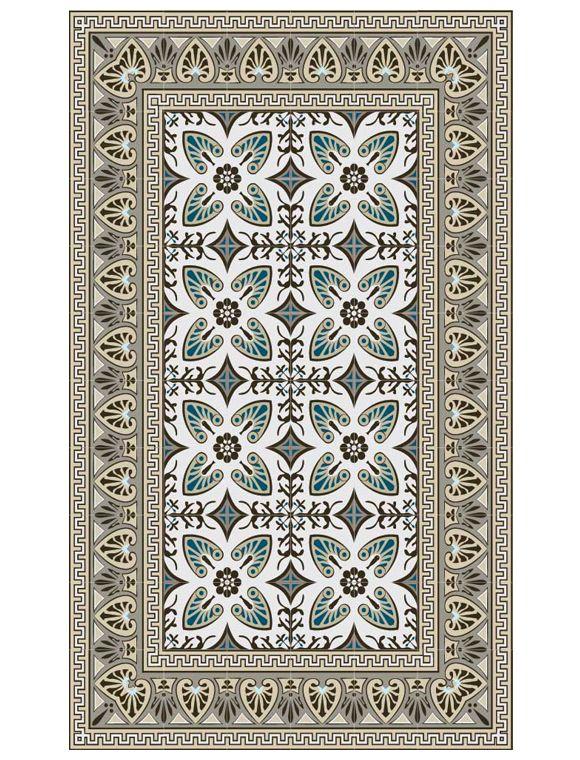 die vinylmatte bella von beija flor sieht fliesen t uschend echt die praktische matte gibt es. Black Bedroom Furniture Sets. Home Design Ideas