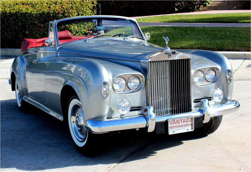 1963 rolls royce silver cloud iii h j mulliner. Black Bedroom Furniture Sets. Home Design Ideas