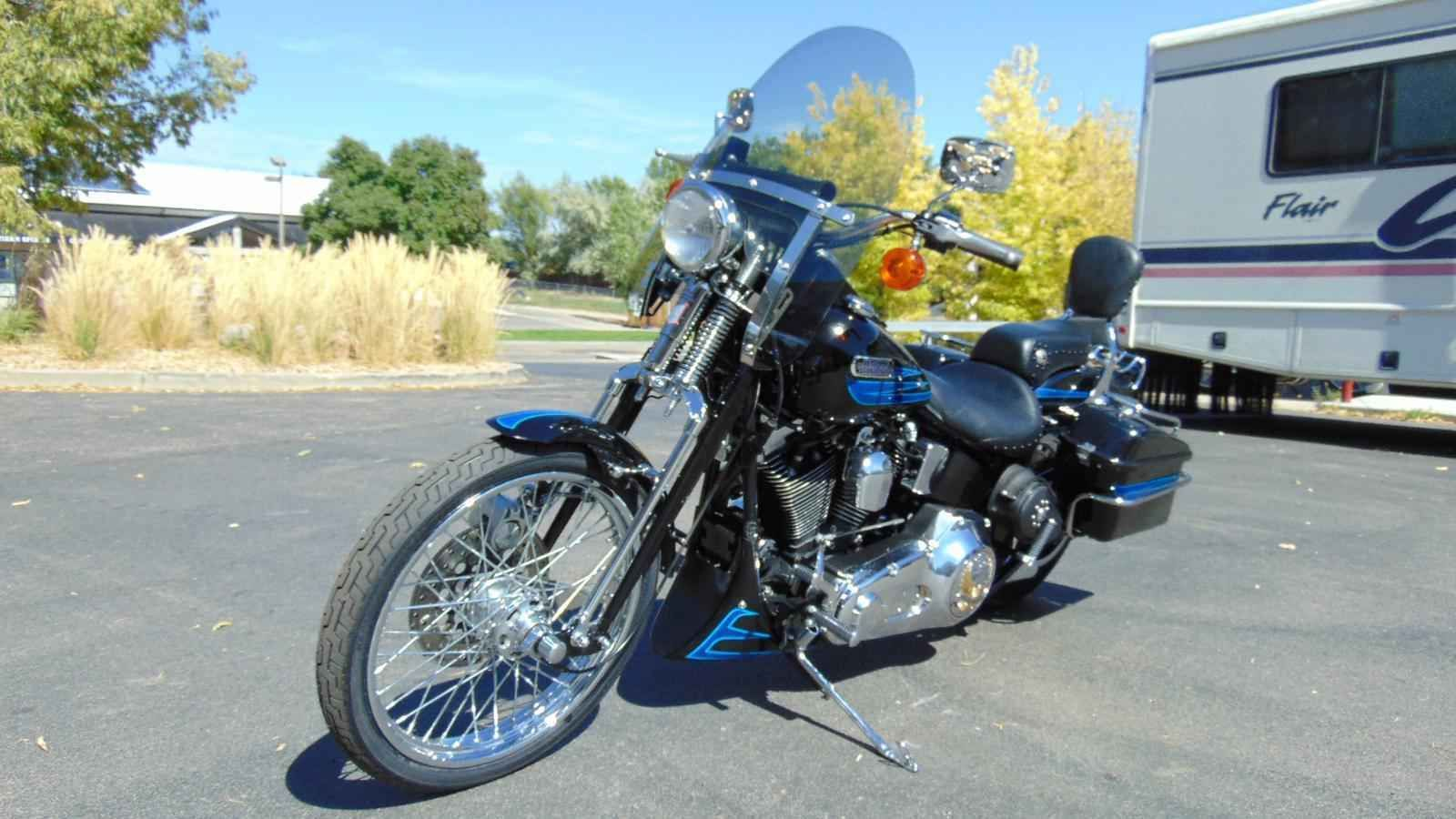 1995 Harley Davidson Fxsts B Motorcycles For Sale Harley Davidson Motorcycle [ 900 x 1600 Pixel ]