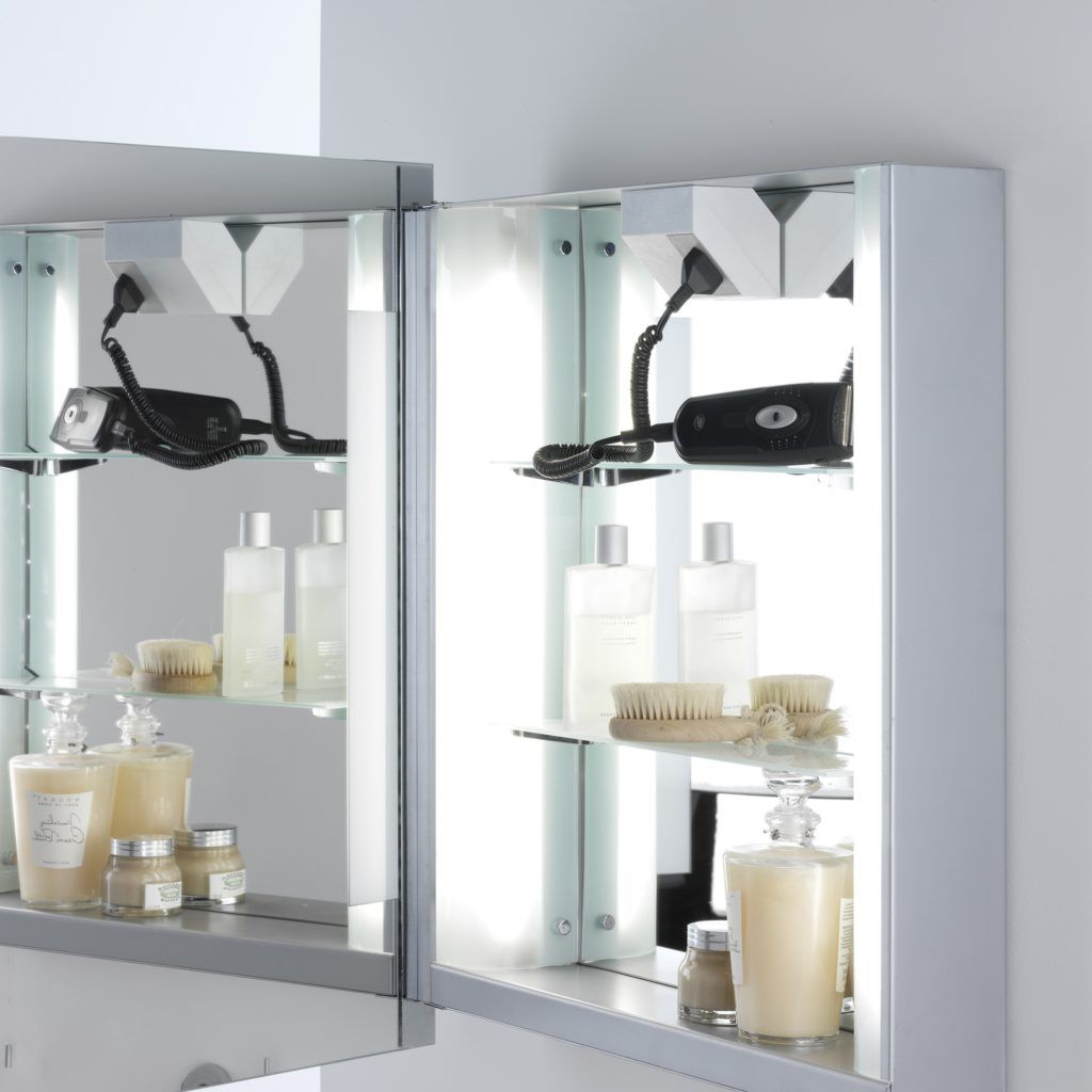 Bathroom Cabinet Mirror Shaver Socket Bathroom Cabinets With Lights Illuminated Bathroom Cabinets Bathroom Mirror Cabinet