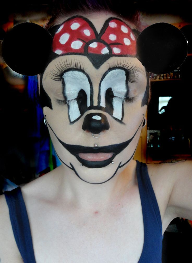 mickey mouse face haloween - Google Search