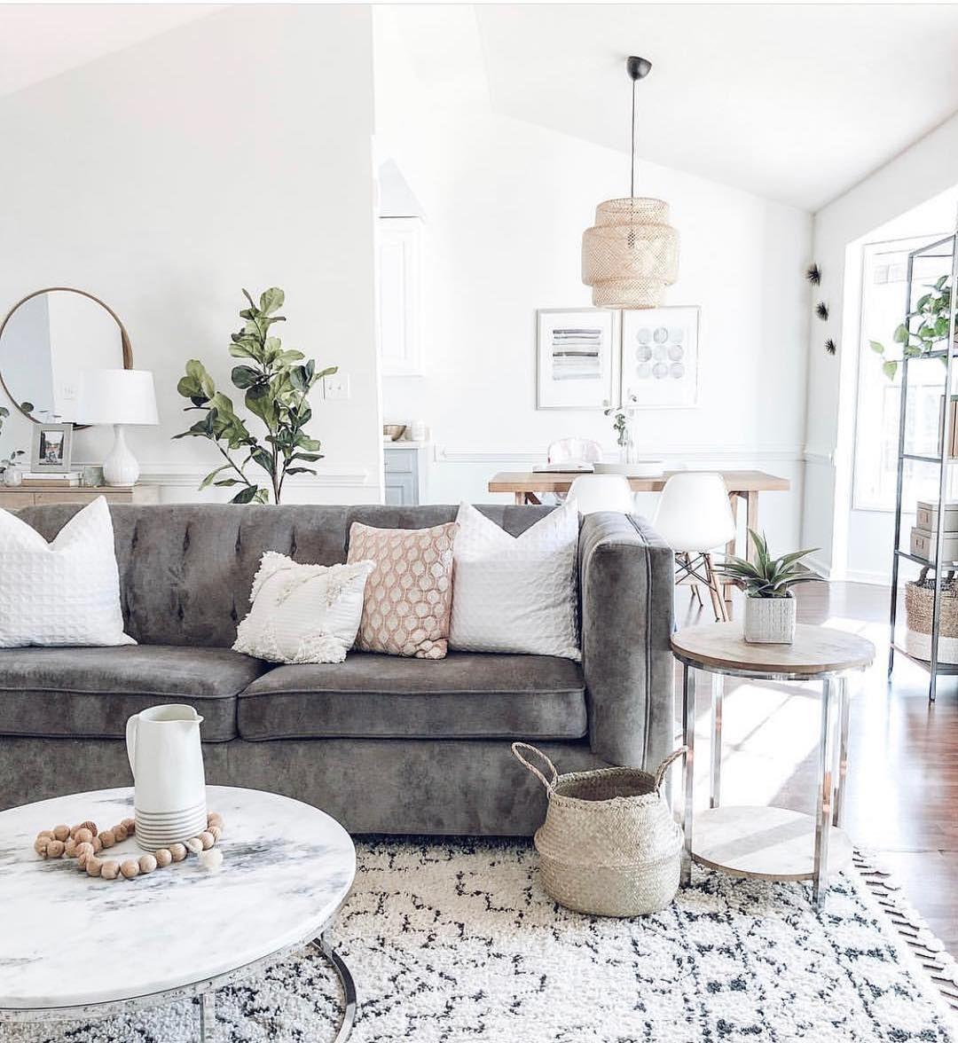Modern Living Room Decor Ideas Marble Coffee Table Design