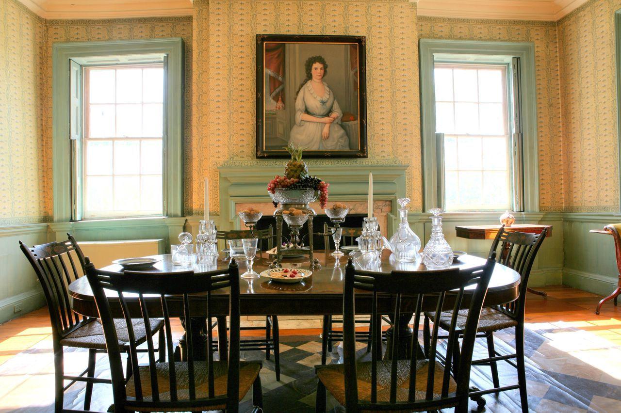 Dining Room At Morrisjumel Mansion Manhattan Ny Manhattan Magnificent Mansion Dining Rooms Design Inspiration