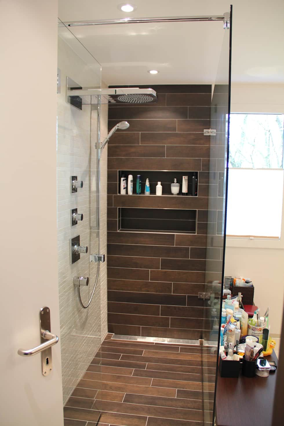 Begehbare duschen: badezimmer von bauarena in 2019 | kuca ...
