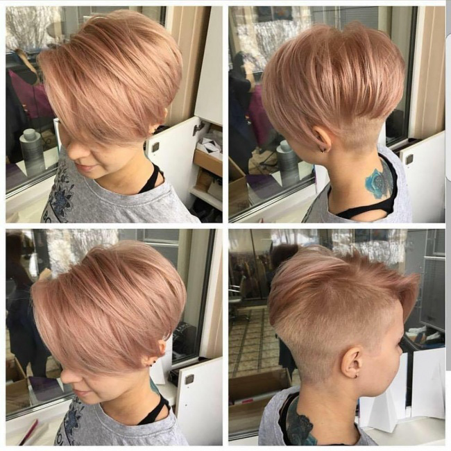 The boyish cut is not feminine? here is that proves the opposite