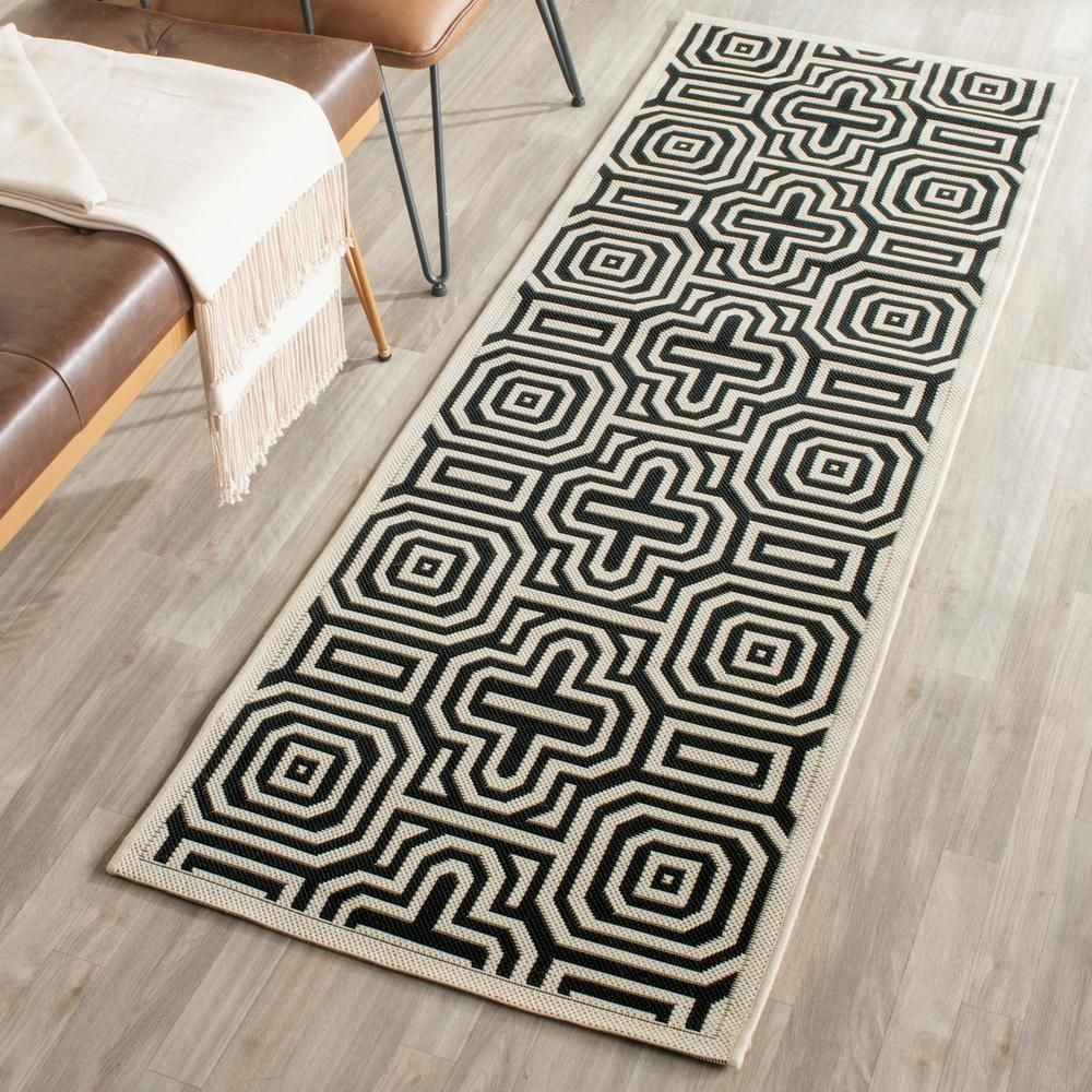Safavieh Courtyard Brown Natural 4 Ft X 6 Ft Indoor Outdoor Area Rug Cy2962 3009 4 The Home Depot In 2020 Outdoor Runner Rug Outdoor Area Rugs Indoor Outdoor Rugs