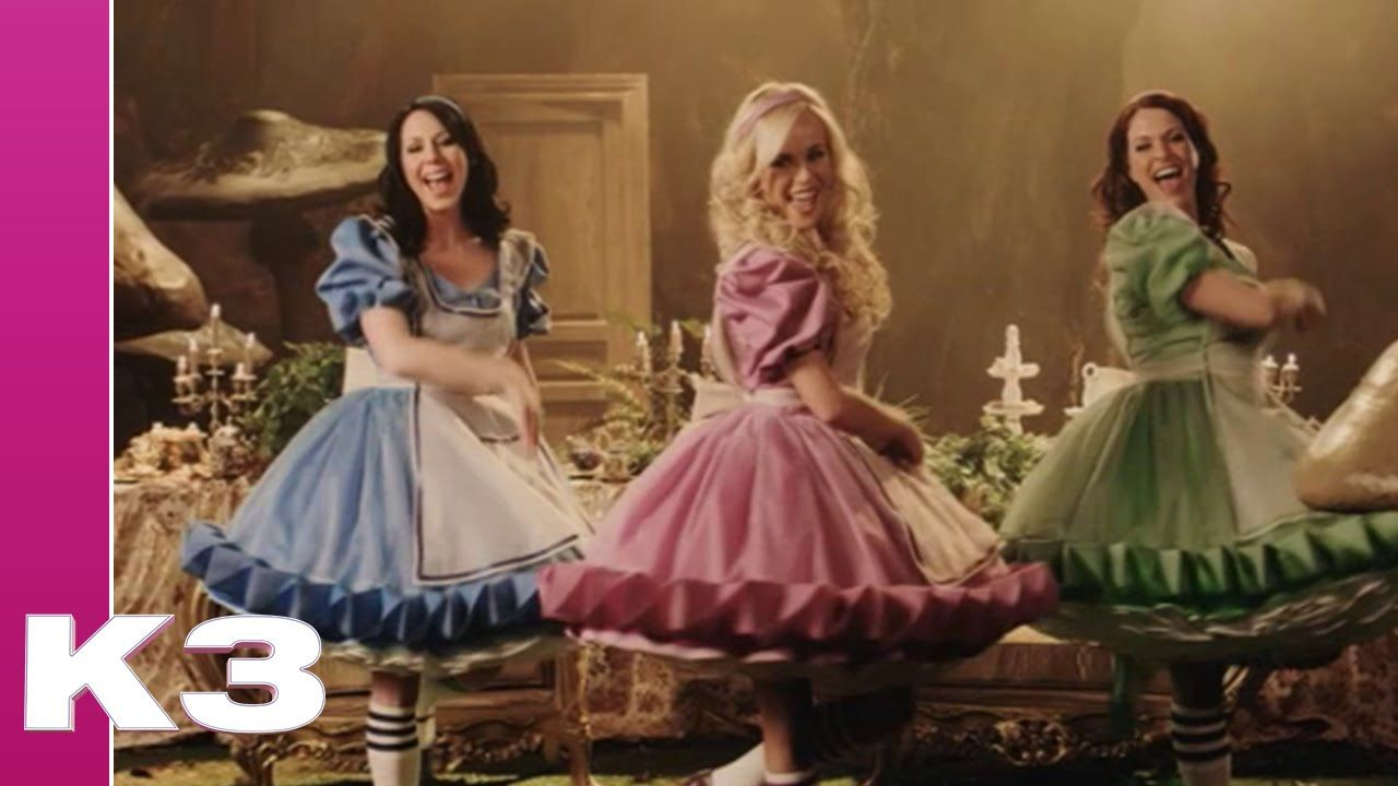 K3 Alice In Wonderland Alice In Wonderland Alice Costume Wonderland