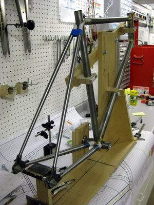 Frame Jig Questions Mtbrcom Projects To Try Pinterest Bike