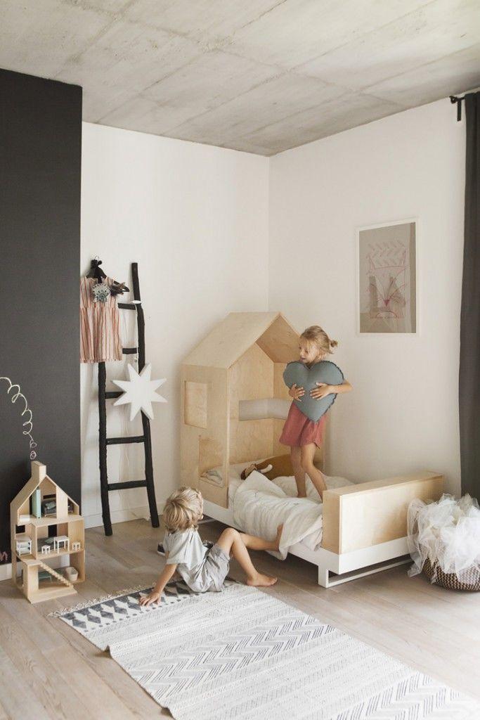 Les objets déco en forme de maison envahissent les chambres d\'enfant ...