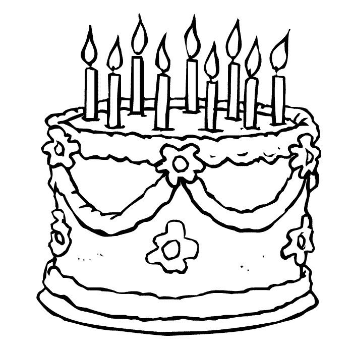Free Printable Birthday Cake Coloring Pages For Kids Birthday Coloring  Pages, Lego Coloring Pages, Happy Birthday Coloring Pages