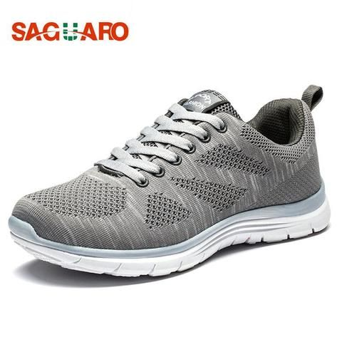 887ea09a3fe New Sport Shoes 2018 Men Running Shoes Outdoor Breathable Lightweight  Sneakers Professional Jogging Trainer Sneakers