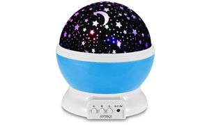 Sun And Star Rotating Projection Lamp Night Light Kids Star Night Light Baby Night Light
