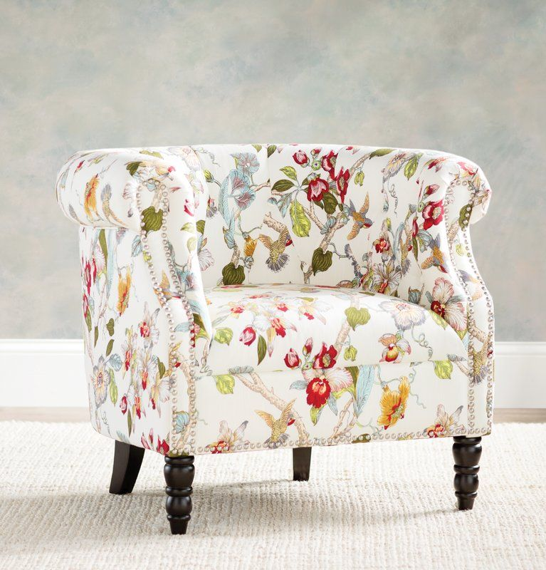 Huntingdon Chesterfield Chair is part of Floral accent chairs - You'll love the Huntingdon Chesterfield Chair at Joss & Main  With Great Deals on all products and Free Shipping on most stuff, even the big stuff
