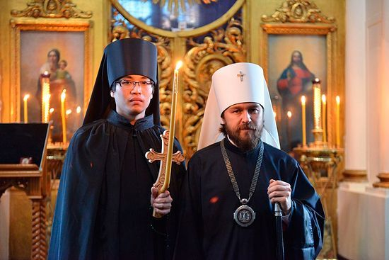 An Orthodox Monk from a Samurai family