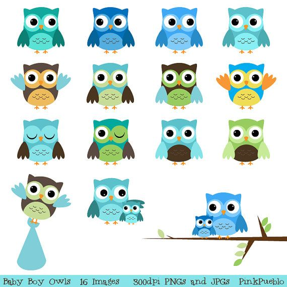 Unavailable Listing On Etsy Baby Owls Owl Baby Shower Baby Clip Art