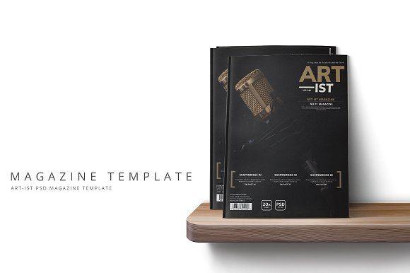 Art-ist Magazine Template Vol10 by pmvch on @creativemarket