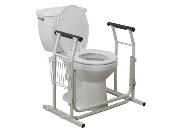 Toilet Safety Rail - White - New Product Arriving Soon ...