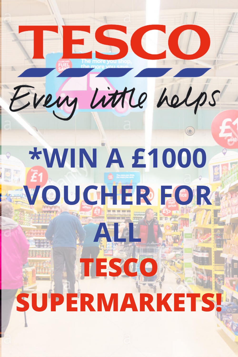 Free Prize Draw To Win Tesco 1000 Of Vouchers In 2021 Grocery Gift Card Paypal Gift Card Gift Card Giveaway
