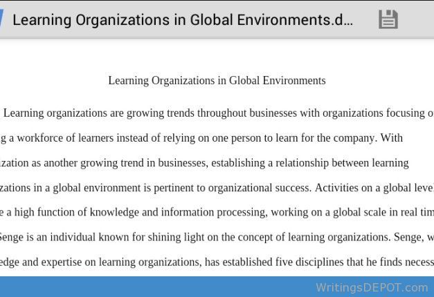 0010 Pin by WritingsDEPOT on Essays Learning organization
