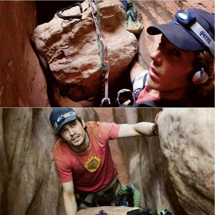127 Hours Real-Aron Ralston Reel-James Franco | True Story ...