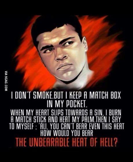 Legend Muhammad Ali Karate Pinterest Islamic Quotes Islam