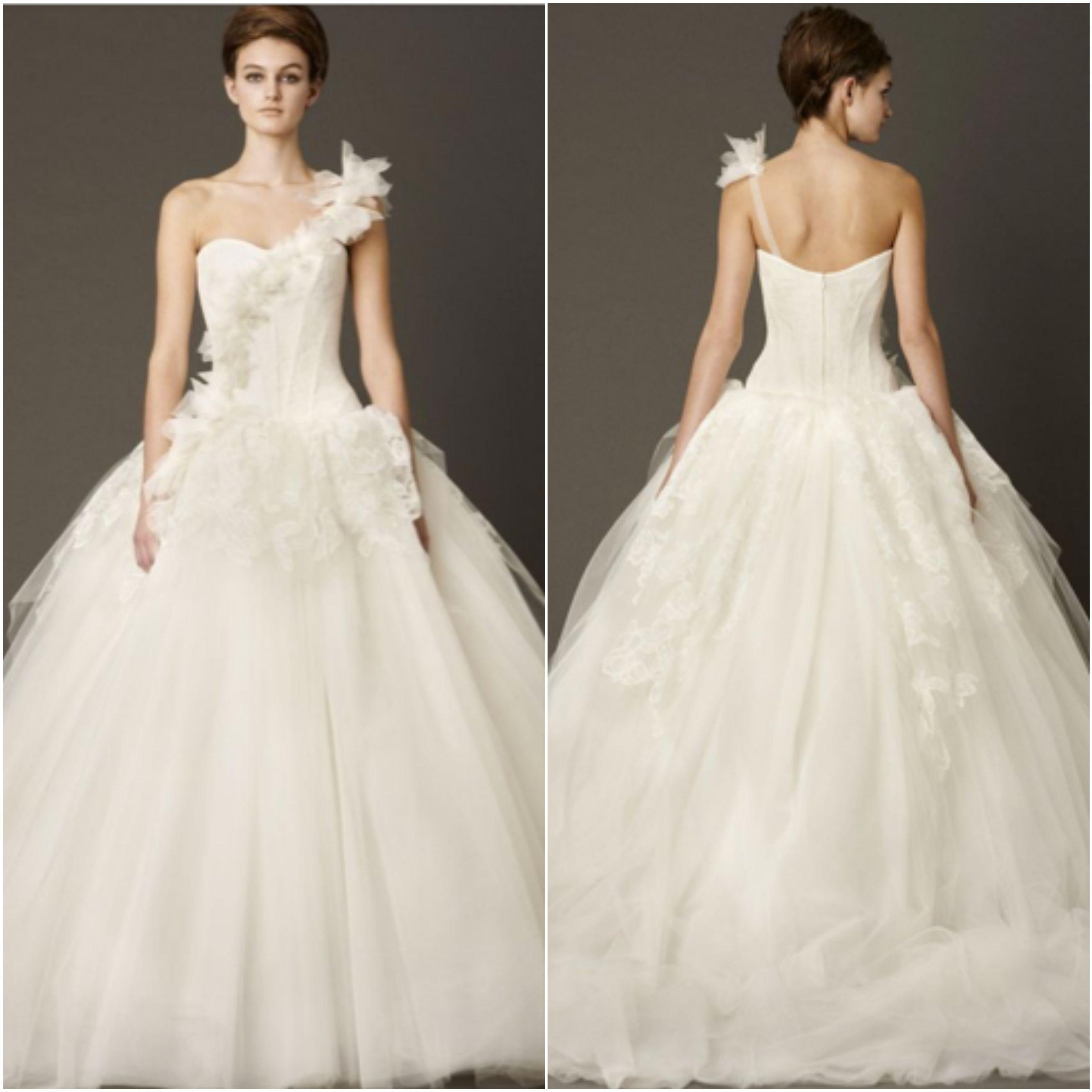 Vera Wang|Laura|Bridal Gown| Ballgown| b. Hughes Bridal Formal ...