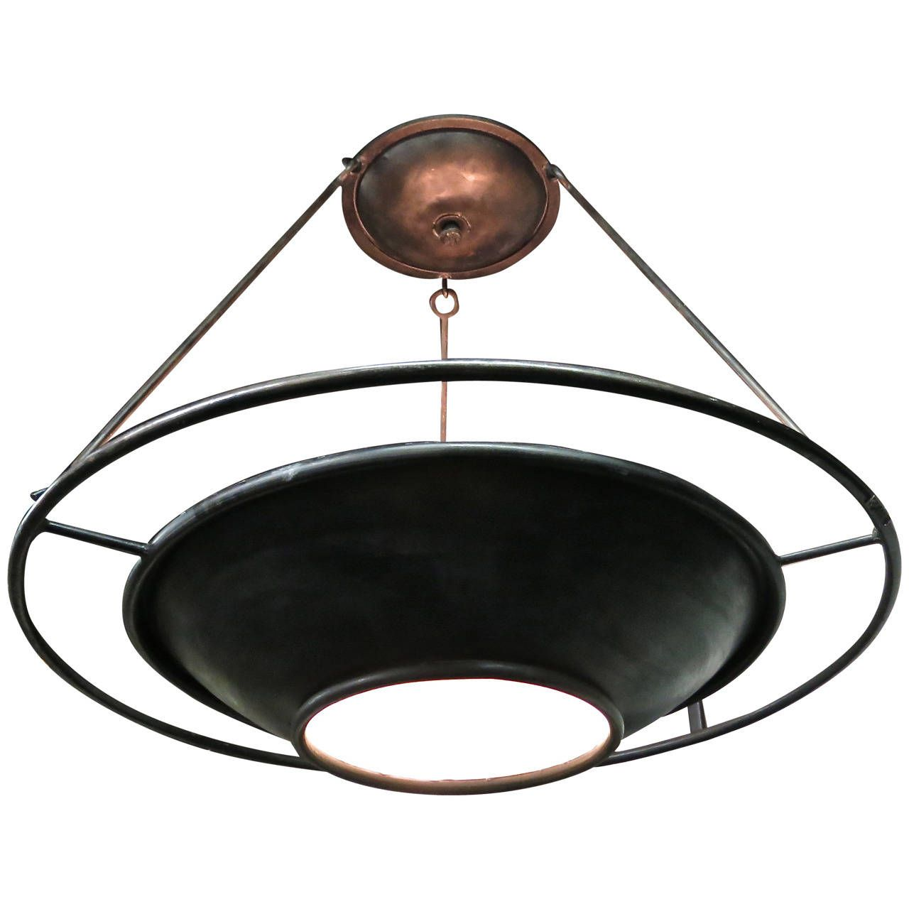Ceiling Fixture Signed Ilana Goor Circa 1990 Made In Usa Ceiling Fixtures Chandelier Pendant Lights Vintage Lighting