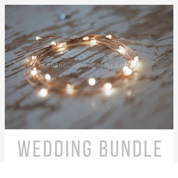 Rustic Wedding Decor, String Lights, Rustic Wedding Table Decor, Centerpiece, Battery, Fairy lights, 10 LEDs, 20 LEDs, 39″ or 78″ inches