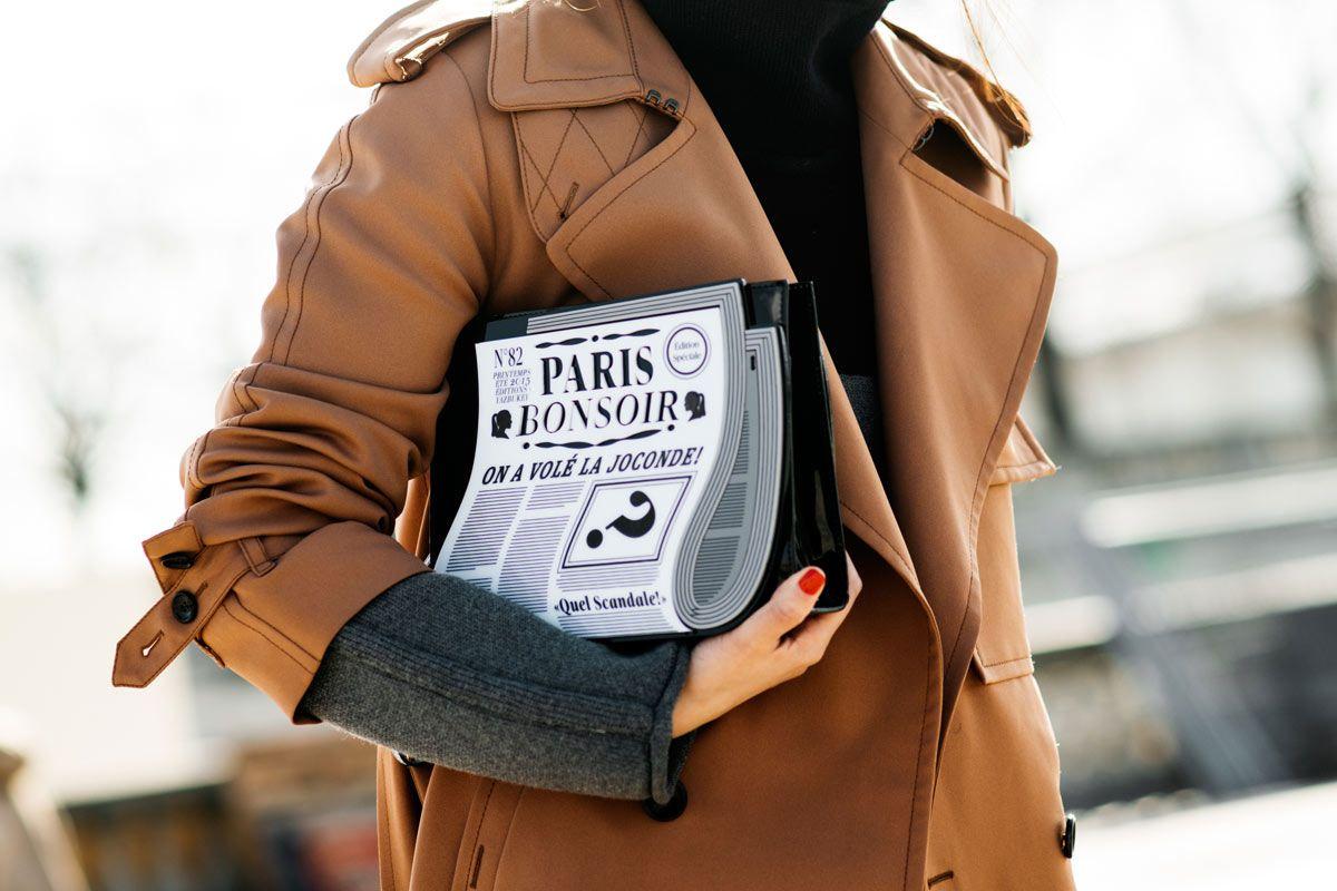 Street Style en Paris Fashion Week, marzo 2015 © Soren ...