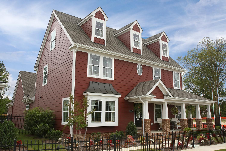 James Hardie Design Ideas Photo Showcase Countrylane Red House Siding White Exterior