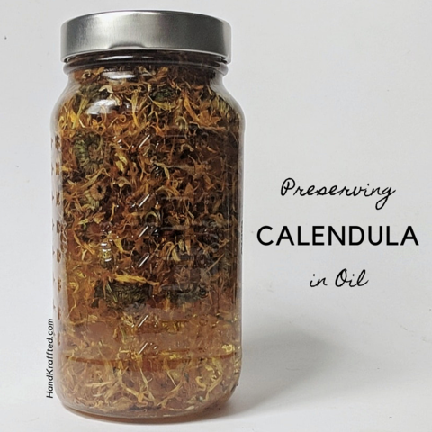 Calendula Infused Oil (With images) Infused oils