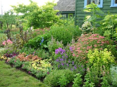 garden borders - Garden Design Cottage Style