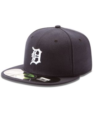 online store a8e2a 16777 New Era Mlb Hat, Detroit Tigers On-Field 59FIFTY Fitted Baseball Cap - Blue  7 1 8