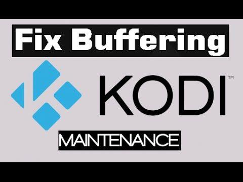 kodi buffering tools