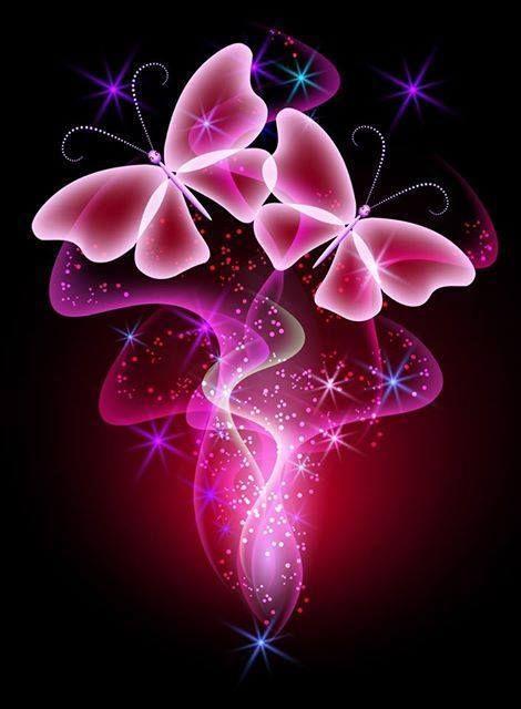 Dazzling Pink Butterflies