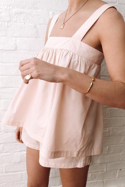 Suzie Sleep Set - Cotton - Shell Pink – Piyama USA