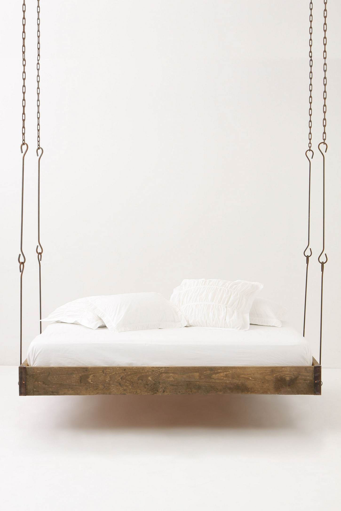 Hanging bed chains - Barnwood Hanging Bed