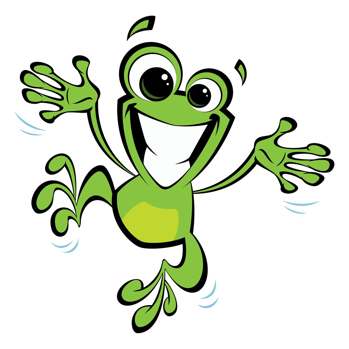 My Current Mood Happy Cartoon Frog Illustration Cute Frogs