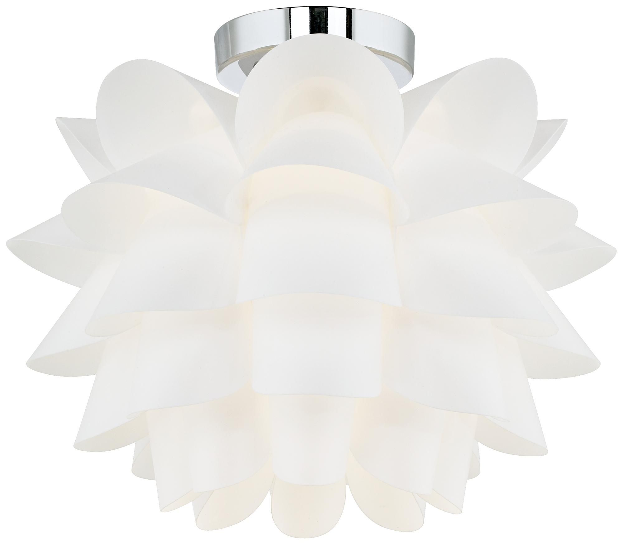 Possini euro design white flower 15 34 wide ceiling light possini euro design white flower 15 34 wide ceiling light 6995 already arubaitofo Gallery