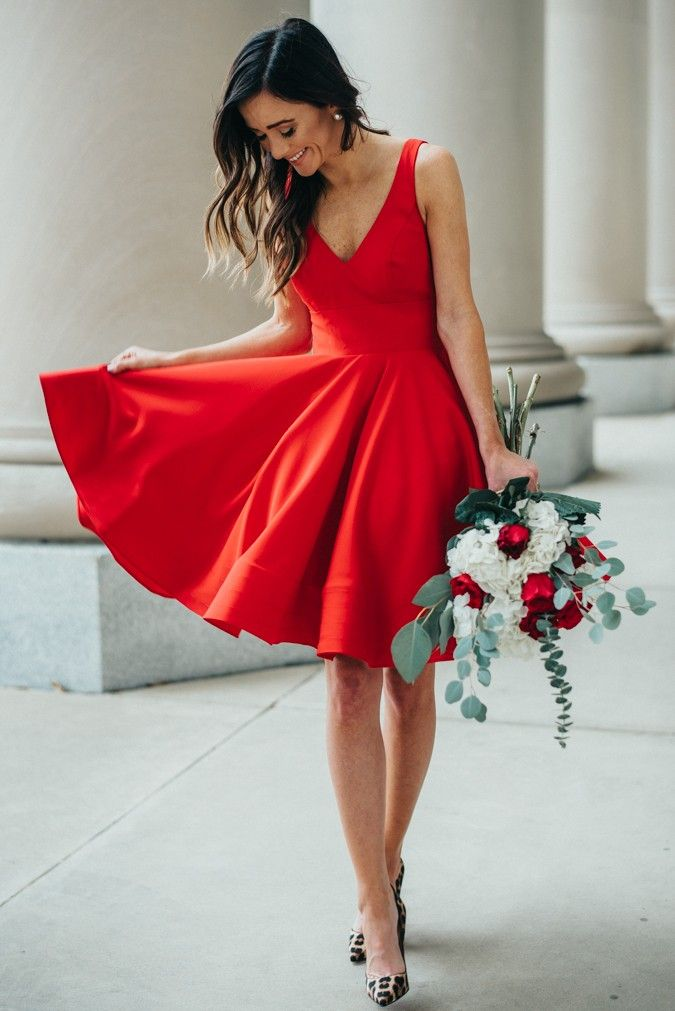 Simple Valentine's Day Formal Dresses
