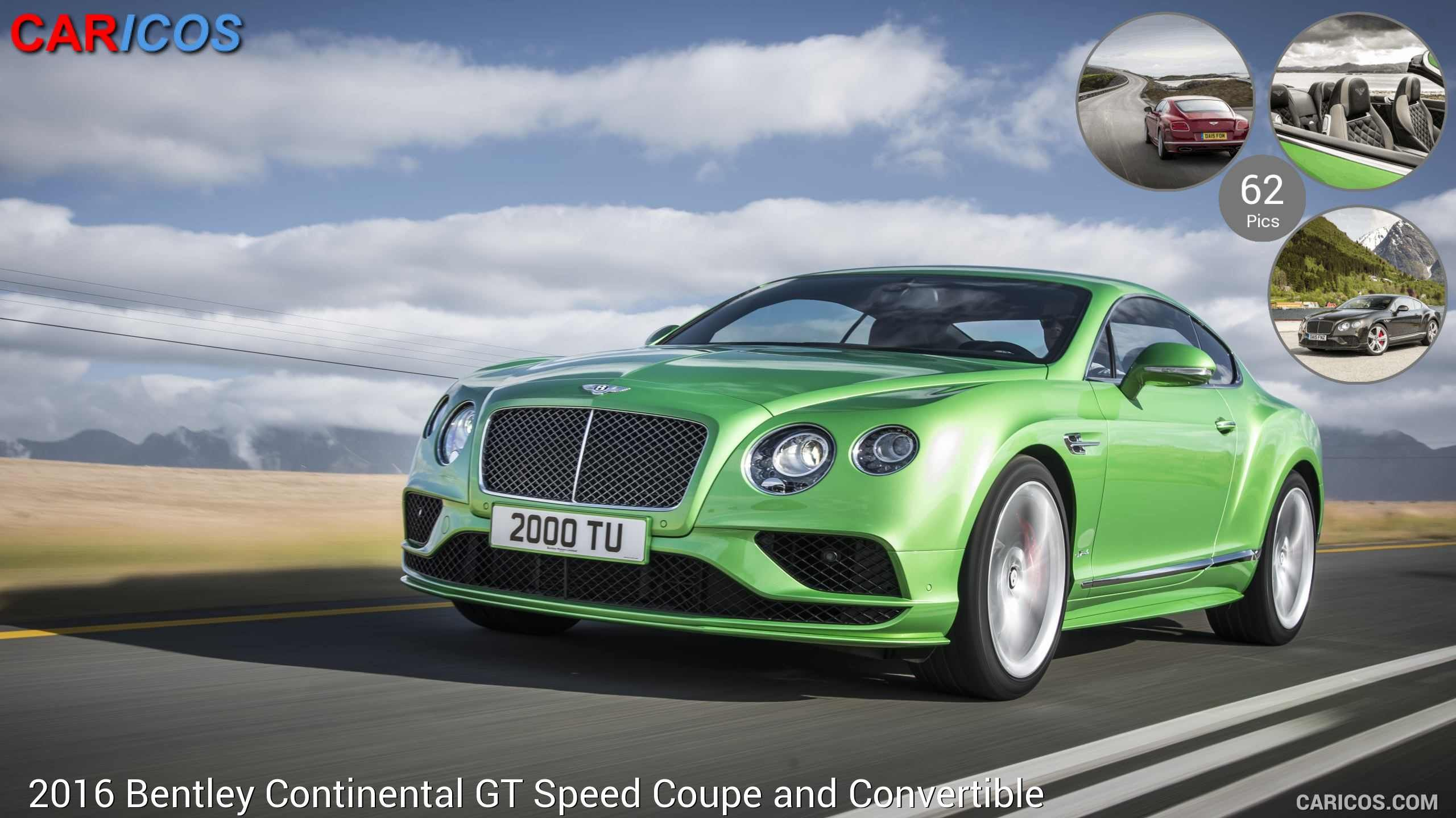# CARICOS >> Bentley Continental GT Speed Coupe and Convertible (2016) >> LINK + 62 fotos
