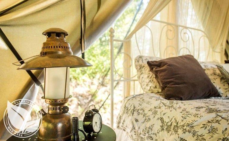Luxury Tent Cabins on Ranch near Spokane, Washington