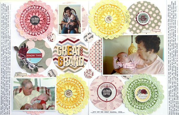jbs inspiration: Circles, Doilies, & Stamps #brianajohnson