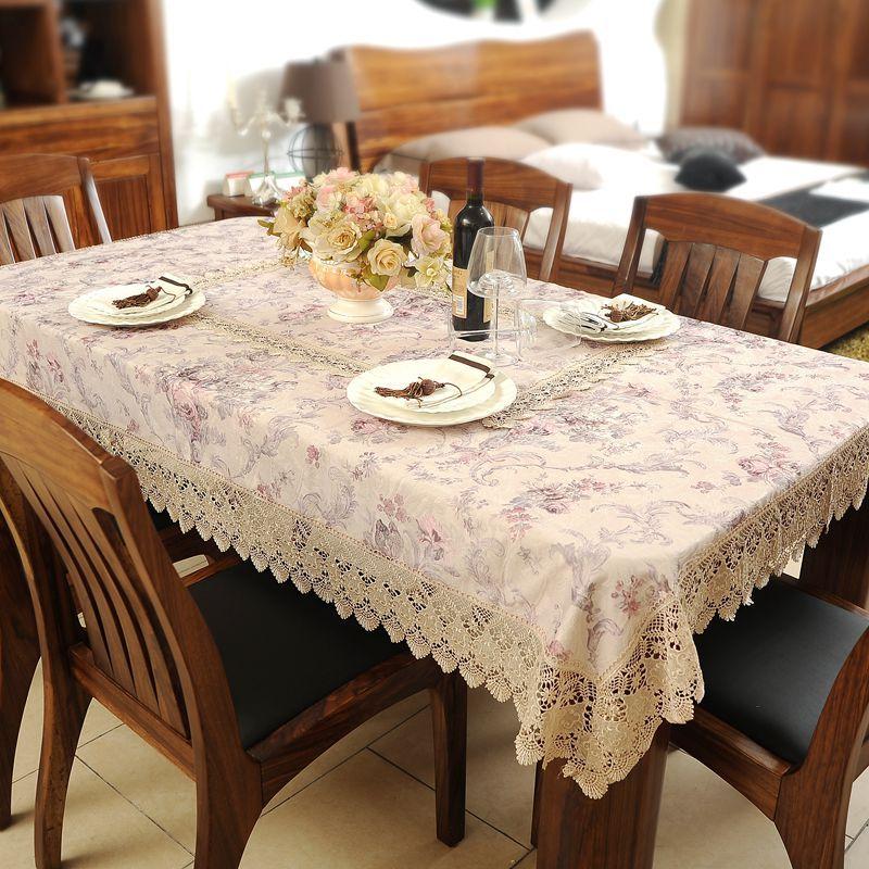 Famosa moda mesa de tela tejido calidad coffee mantel comedor ...