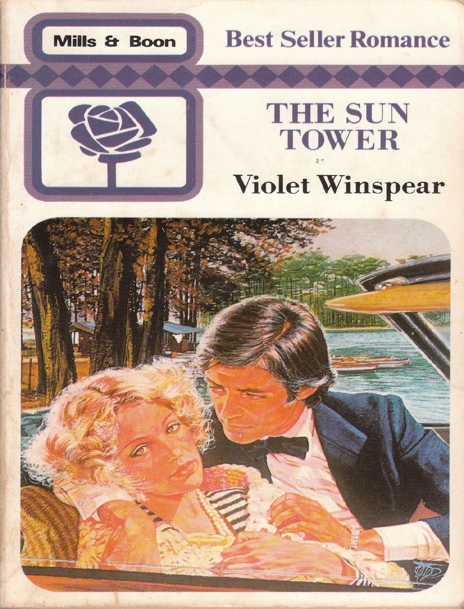 60075306 the Sun Tower Violet Winspear | OLD ROMANCE BOOKS I