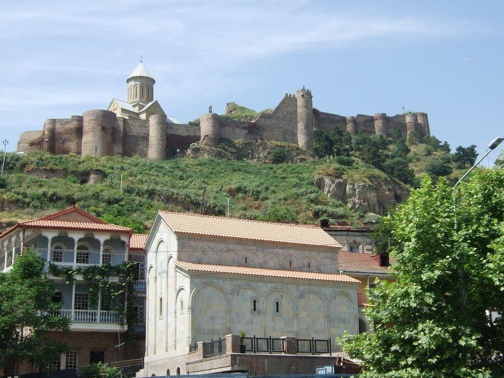 сказал, тбилиси и его крепость нарикала фото желудок, вязкая