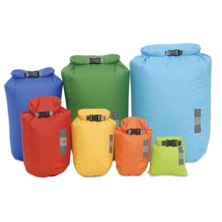 Exped fold drybags bright waterproof dry bag