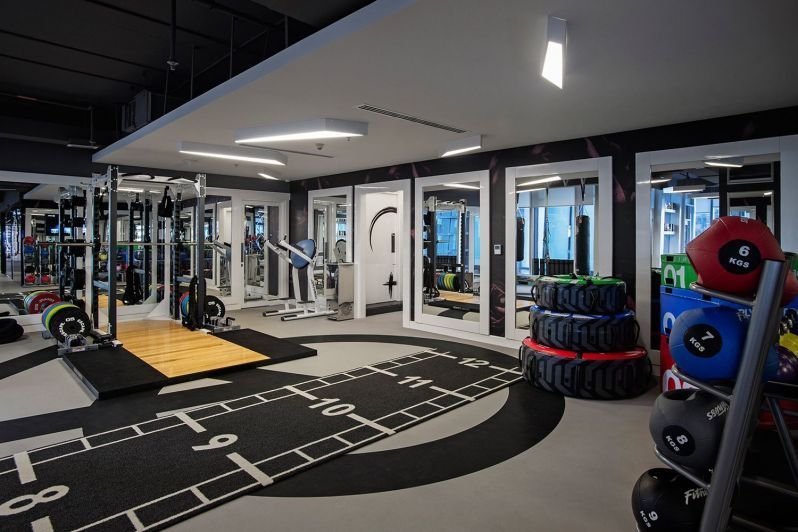 Image Result For Gym In Dubai With Images Luxury Gym At Home