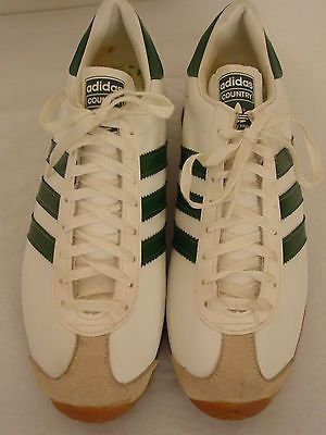Vintage 1960s 70s Adidas Country Gym Shoes Made In France 8